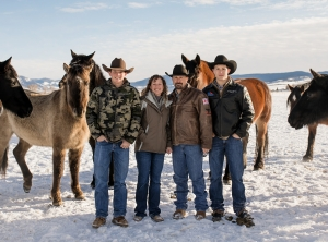 Wyoming Hunting Guides Dusting and Laura Child of Trophy Mountain Outfitters